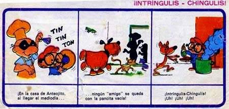 Un ejemplo del ¡Intríngulis-Chíngulis!