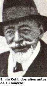 Emile Cohl, dos años antes de su muerte