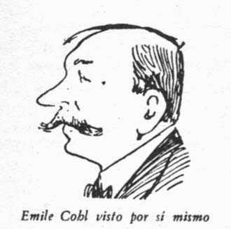 Emile Cohl, visto por sí mismo