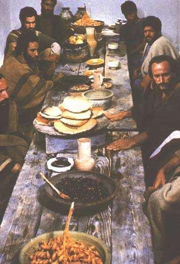 Una visión de los Apóstoles en IL MESSIA (1975) de Rossellini