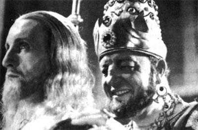 Robert LeVigan y Harry Baur en GOLGHOTA (1935)