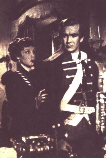 Fanny Navarro y Carlos Cores en EL GRITO SAGRADO