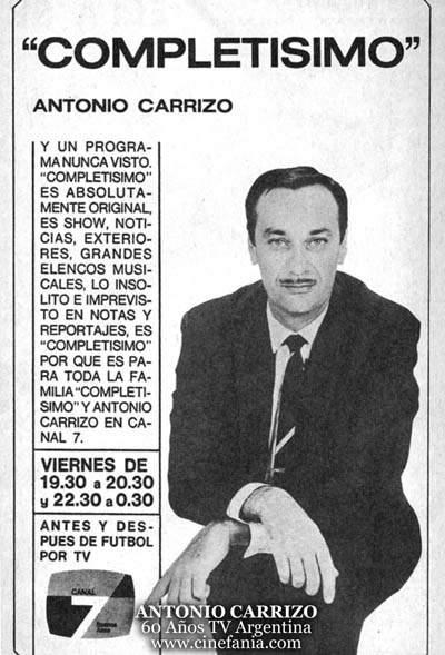 Antonio Carrizo Net Worth