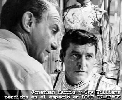 Jonathan Harris y Guy Williams